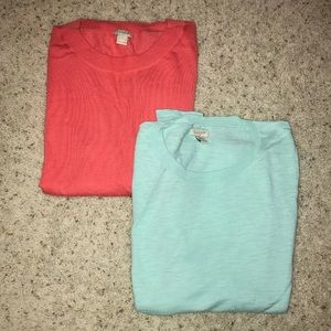 J Crew springtime sweaters READ FOR DETAILS